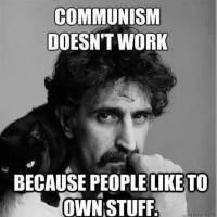 Frank Zappa on Communism